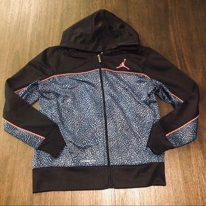Jordan Youth Full Zip Up Hooded Sweater